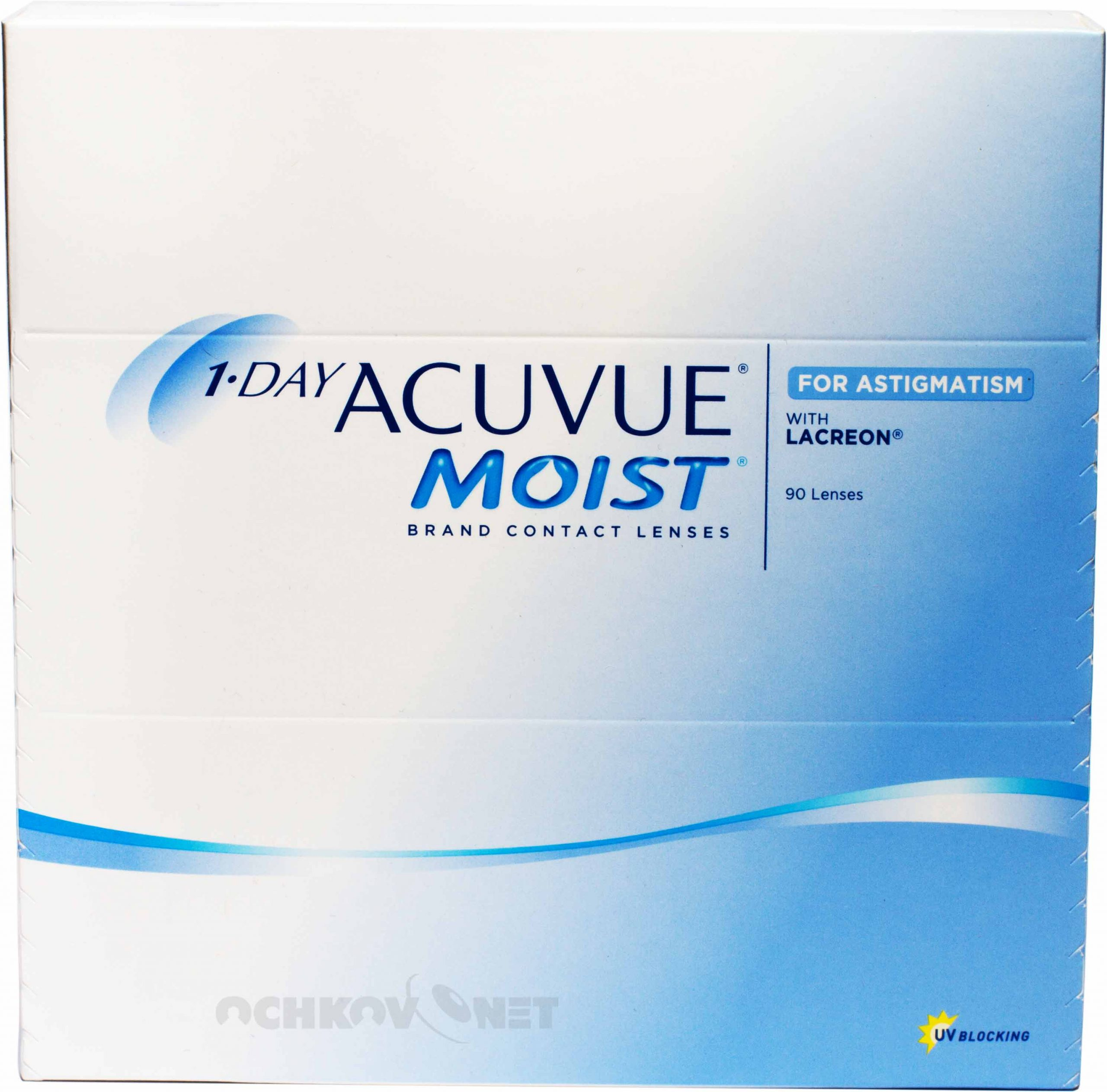 Image 1-Day Acuvue Moist for Astigmatism 90 линз 90 линз